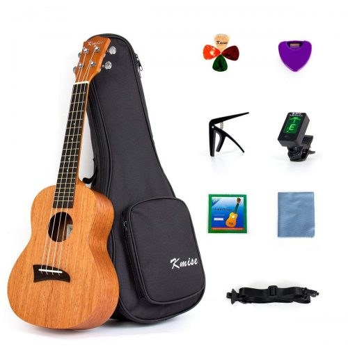 Kmise Concert Ukulele starter kit