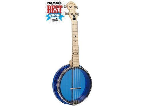 Gold Tone Little Gem ukulele banjo sapphire