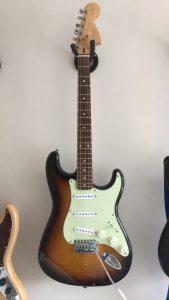 2002 Squire Affinity Stratocaster 20th Anniversary MIC sunburst
