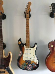 2008 Fender Stratocaster Standard MIM sunburst