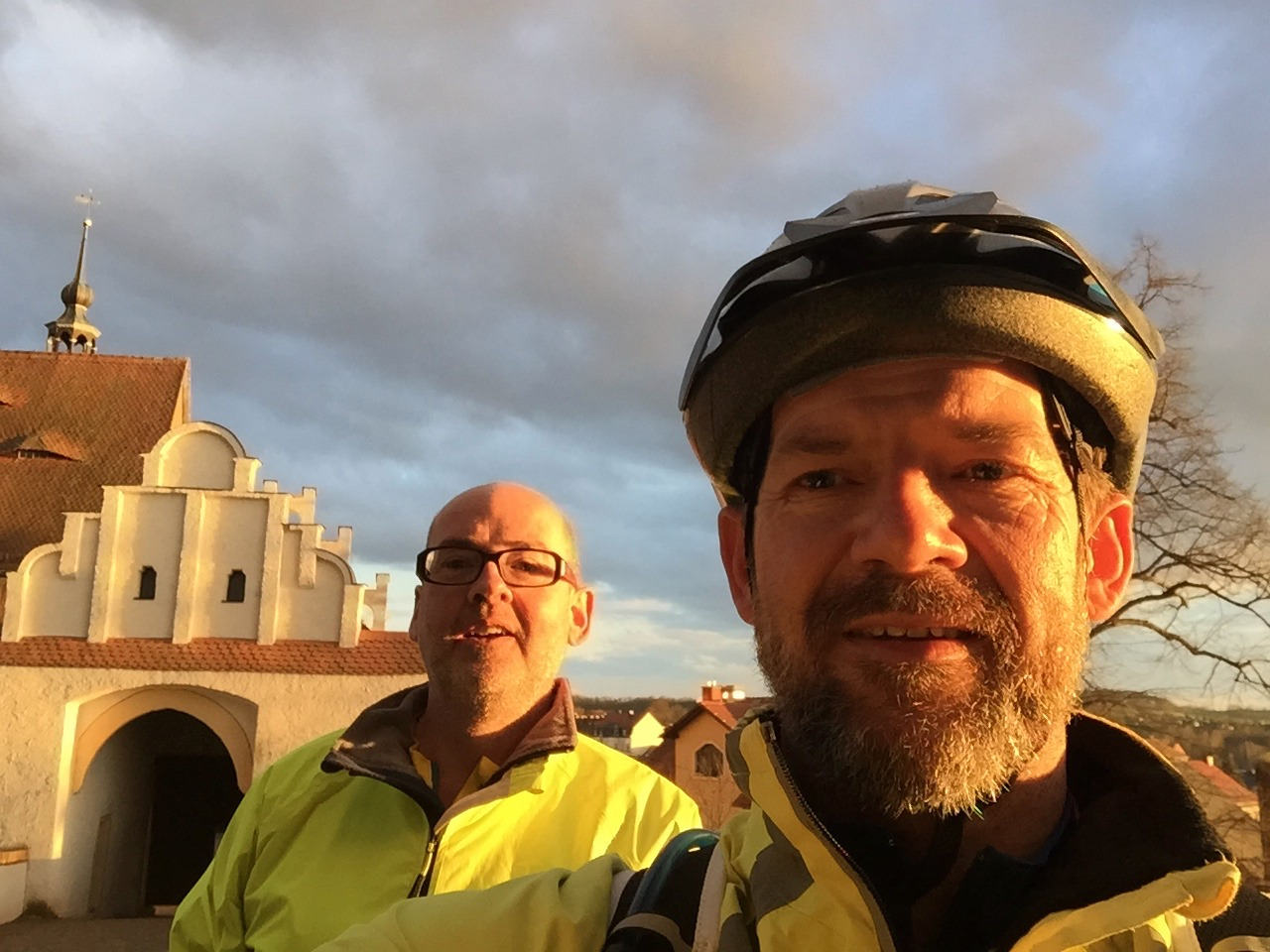 2016 Prague to Leipzig cycle tour Neil Rigby