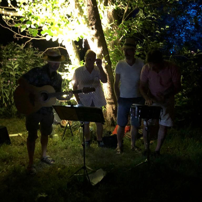 Campfire Party Music